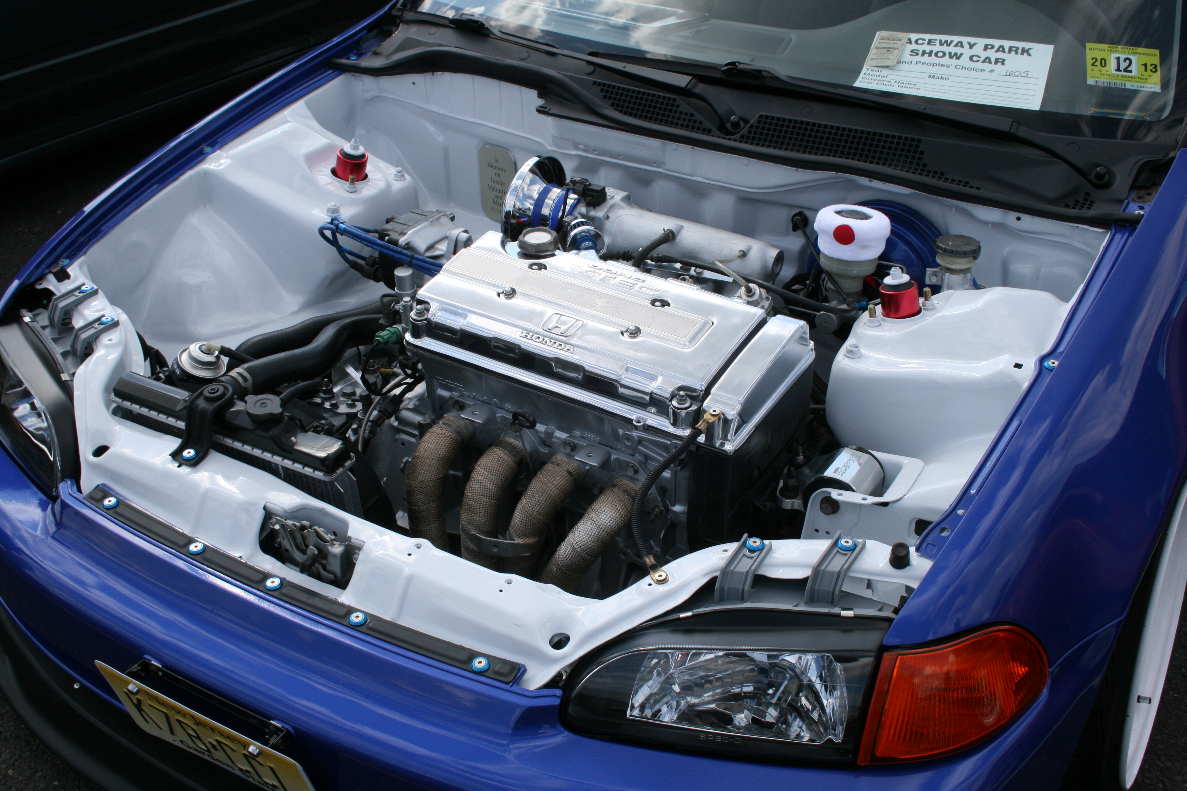 also Custom Honda Civic Eg Hatchback Integra Front in addition D Civic Eg Teal Ls Swap Trade Whip Engine Bay also F E B Ee Def B Dfc in addition Yjgz G. on integra wire tuck engine bay